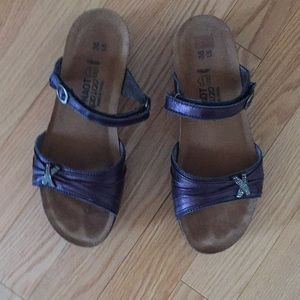 NAOT leather sandals